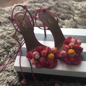 Brand new aquazzura sandals
